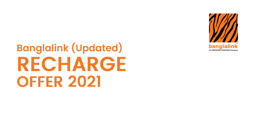 Banglalink Recharge Offer (Updated)