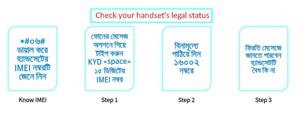 Legal Status Check Of Your Handset